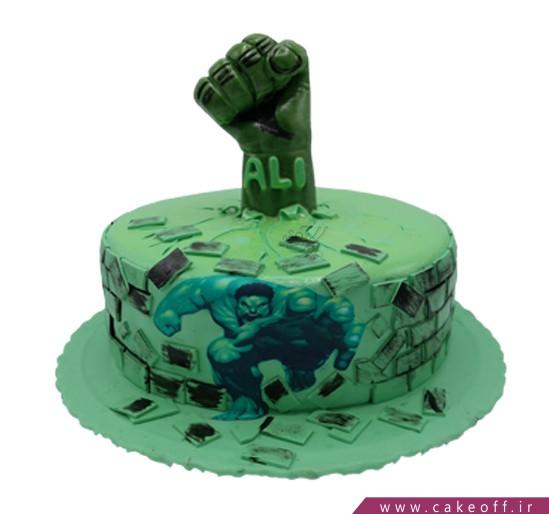 مدل کیک پسرانه - کیک هالک ۵ | کیک آف