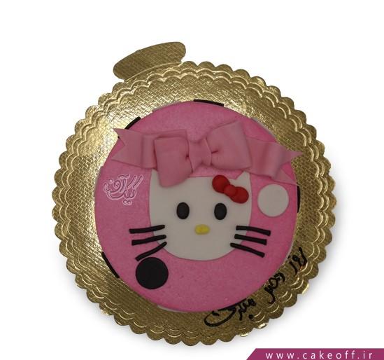 کیکهای تولد زیبا - کیک کیتی ملوس | کیک آف