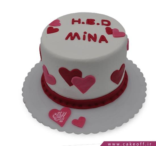 کیک عاشقانه ونیز | کیک آف