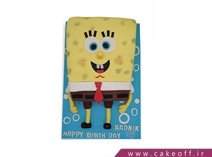 کیک تولد بچه - کیک سلام باب اسفنجی | کیک آف