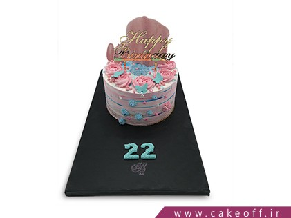 کیک خامه ای - کیک  احساس ناب | کیک آف