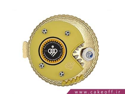 کیک تولد فوتبالی - کیک سپاهان قهرمان | کیک آف