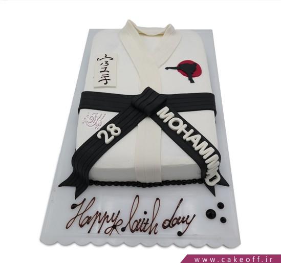 کیک ورزشی - کیک کاراته | کیک آف