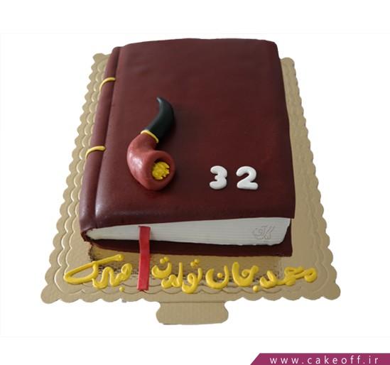 کیک تولد کتاب - کیک کتاب ۶ | کیک آف