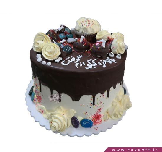 کیک خامه چکه ای