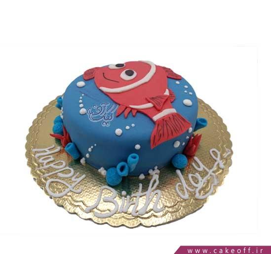 کیک تولد فانتزی - کیک تولد ماهی نمو 11 | کیک آف