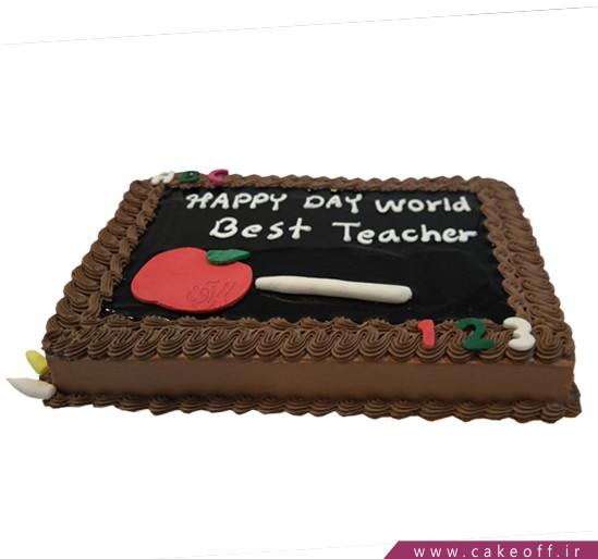 مدل کیک برای روز معلم - کیک ممنونم معلم جان | کیک آف