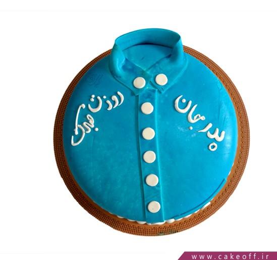 سفارش اینترنتی کیک - کیک مردانه پیراهنت | کیک آف