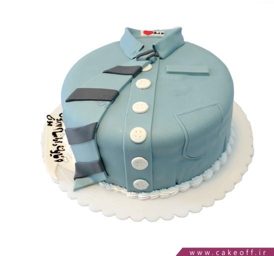 کیک تولد مردانه - کیک پیراهن دامادی | کیک آف