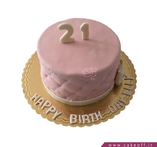 کیک تولد دخترانه مهتاب | کیک آف