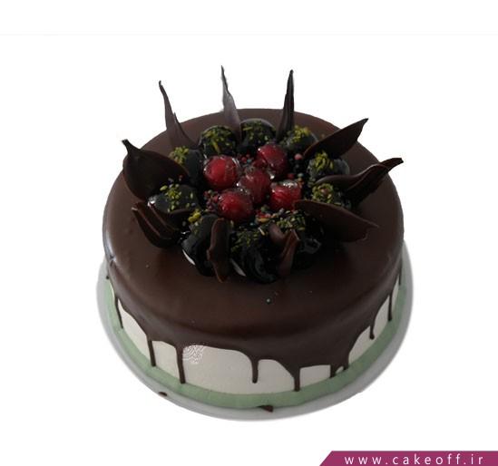 کیک میوه ای - کیک چکه ای توت فرنگی در محاصره | کیک آف