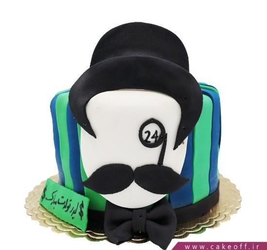 کیک سیبیل - کیک پوآرو 3 | کیک آف