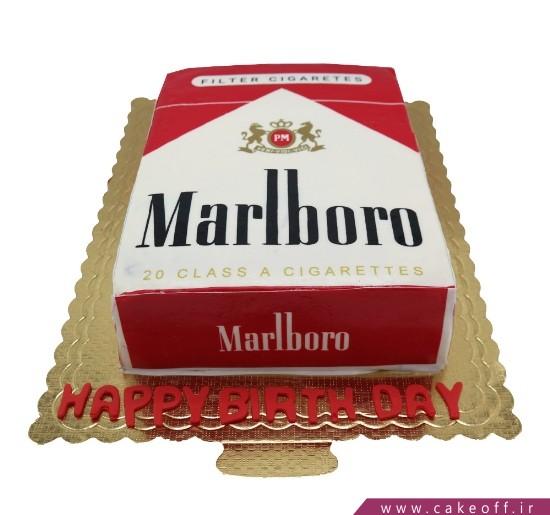 سفارش کیک روز مرد - کیک سیگاری ها | کیک آف