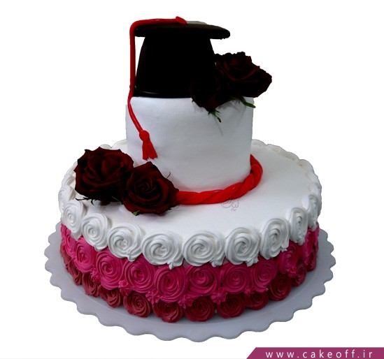 کیک جشن فارغ التحصیلی - کیک تازه اولشه | کیک آف