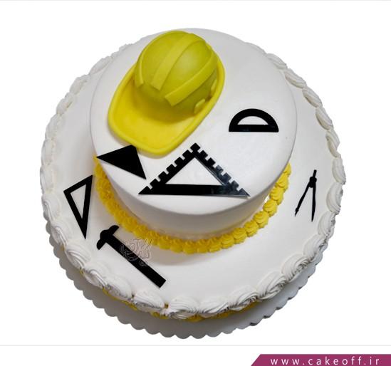 کیک مشاغل - کیک مهندس با تجربه   کیک آف
