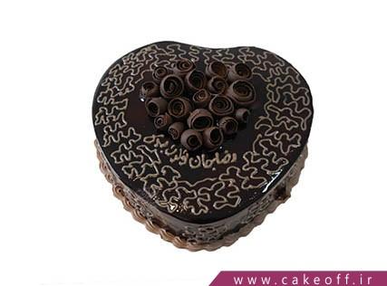 کیک شکلاتی - کیک داستان عشق | کیک آف