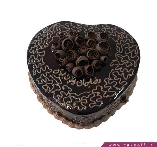 کیک شکلاتی - کیک داستان عشق   کیک آف