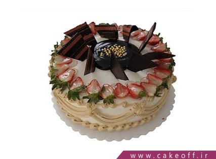 کیک میوه ای ساده | کیک آف