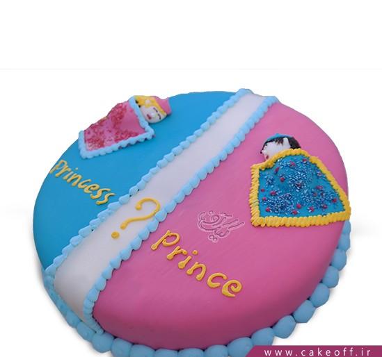 کیک تعیین جنسیت - کیک دختر یا پسر مسئله این است   کیک آف