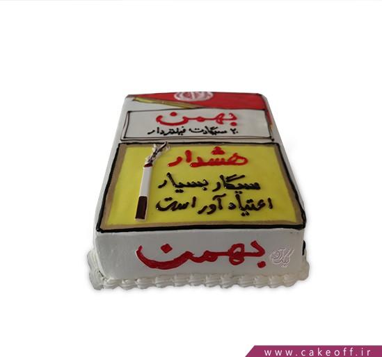 کیک سیگار - کیک دوستی سیگار و سرطان | کیک آف