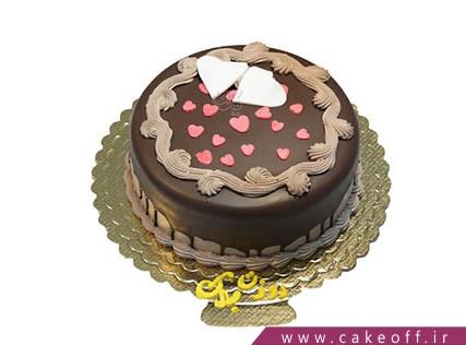 انواع کیک عاشقانه - کیک گلنار | کیک آف