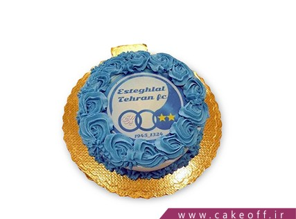 کیک تولد استقلالی - کیک ارتش آبی | کیک آف
