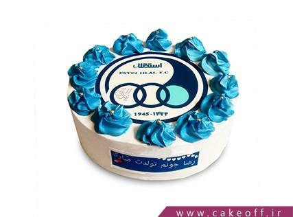 کیک تولد استقلالی - کیک آبی همیشه در صحنه | کیک آف