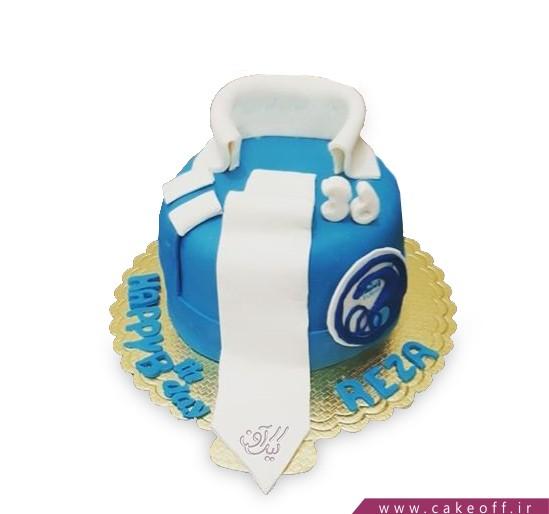کیک همیشه آبی بمان