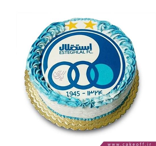 کیک سرور آبی
