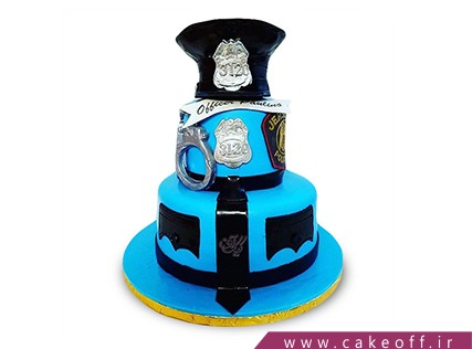 کیک مشاغل - کیک آقای افسر | کیک آف