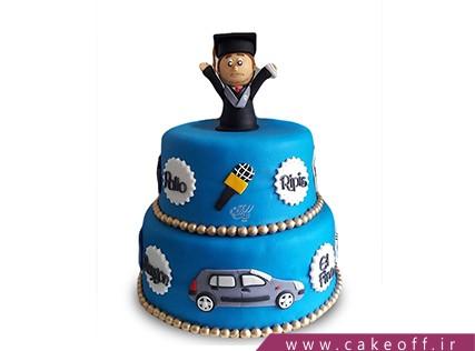 کیک جشن فارغ التحصیلی - کیک در جستجوری کار | کیک آف