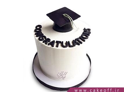 کیک فارغ التحصیلی - کیک مدرکمو بدین برم | کیک آف