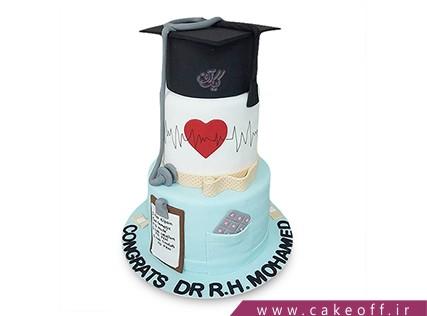 کیک فارغ التحصیلی - کیک آغاز خدمت به جامعه | کیک آف