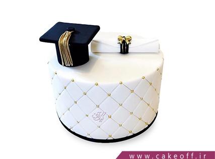 کیک فارغ التحصیلی - کیک بی درس، خوش به سر شود | کیک آف