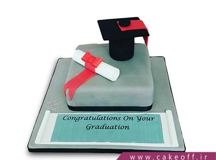 کیک جشن فارغ التحصیلی - کیک روز آخر دانشگاه | کیک آف