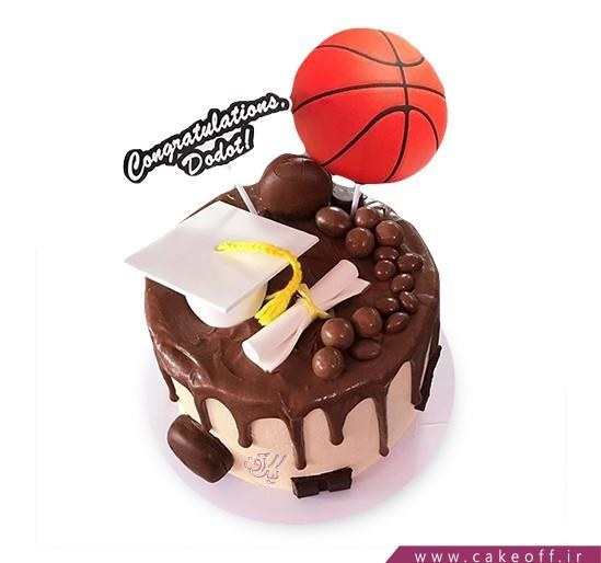 کیک سلام بسکتبال