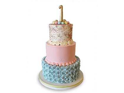 خرید اینترنتی کیک - کیک خامه ای نیکی | کیک آف