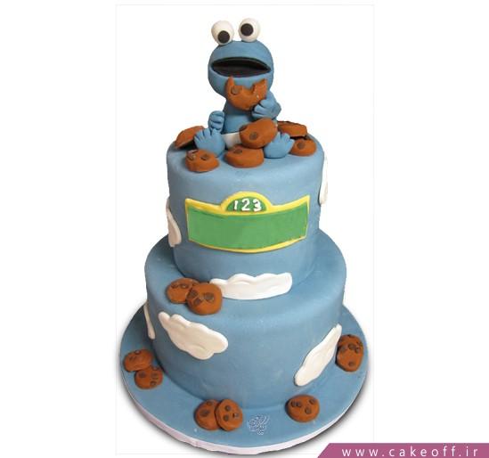 کیک تولد بچه گانه قورباغه شکمو | کیک آف