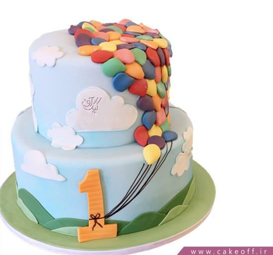 کیک تولد یکسالگی آرزو ها | کیک آف