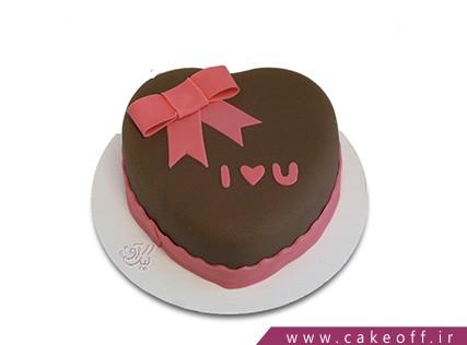 کیک عاشقانه - کیک عشق ما | کیک آف