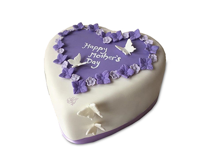 کیک روز مادر یاسپید | کیک آف