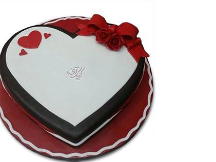 کیک تولد عاشقانه - کیک دوستت دارم | کیک آف