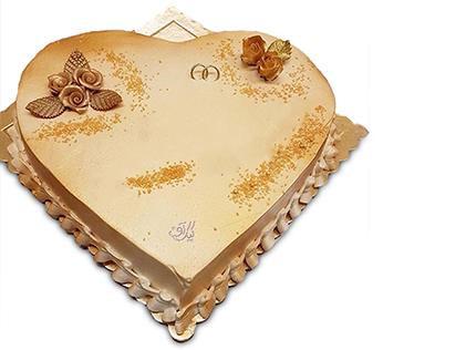 سفارش کیک سالگرد ازدواج - کیک مهربانی هست | کیک آف