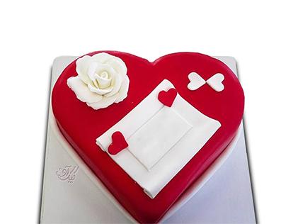 کیک سالگرد ازدواج مهرنوش | کیک آف