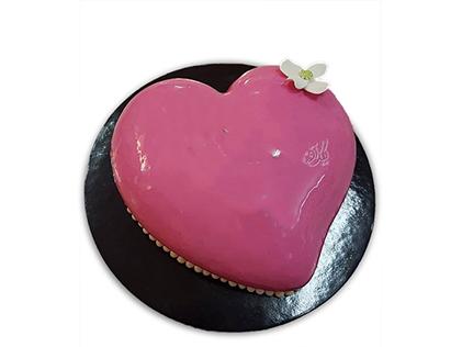 کیک سالگرد ازدواج حب | کیک آف