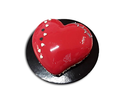 کیک سالگرد ازدواج - کیک عاشقانه مهروش | کیک آف