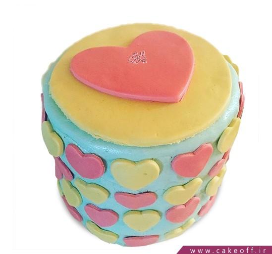 کیک ولنتاین مهرانگیز   کیک آف