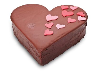 کیک تولد همسر - کیک قلب سپندارمذگان | کیک آف