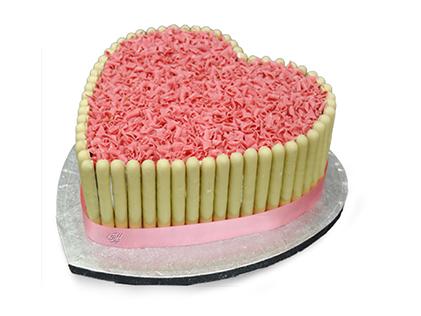 کیک تولد همسر - کیک عاشقانه سینتا | کیک آف