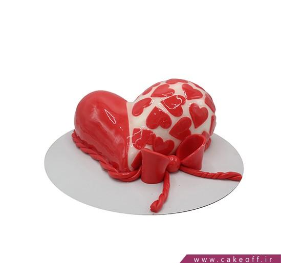 کیک قلب ناتالی